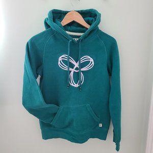 TNA Baltic hoodie in Jade